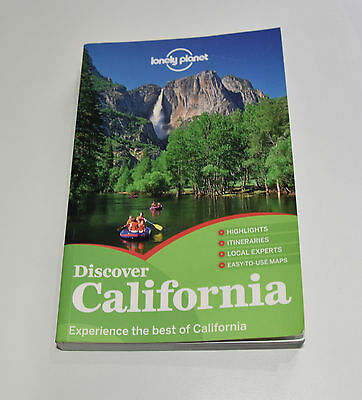 """Lonely Planet """"Discover California"""" Travel Guide Book, Paperback, 2012"""