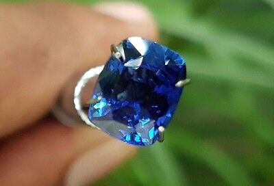 3.05TCW Natural Sparkling Royal Blue Loose Gem Ceylon Earth Mined Blue Sapphire