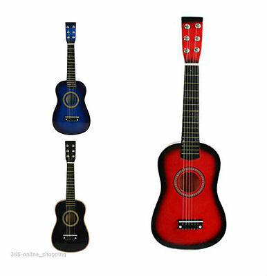 NEW Childrens Kids Mini Toy Wooden Guitar Acoustic Classic Musical Instrument