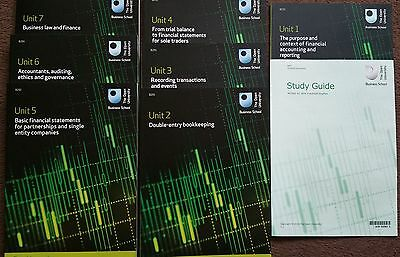 OU Financial Accounting course set of 7 books