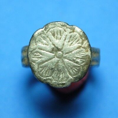 Medieval , Roman Ring Engraved.a