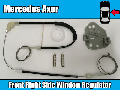 JAGUAR X-TYPE CF1 2001/>2009 FRONT RIGHT DRIVER SIDE WINDOW REGULATOR REPAIR KIT