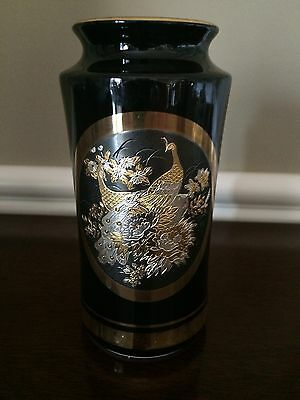 The Art Of Chokin Vase 24K Gold 6 Available