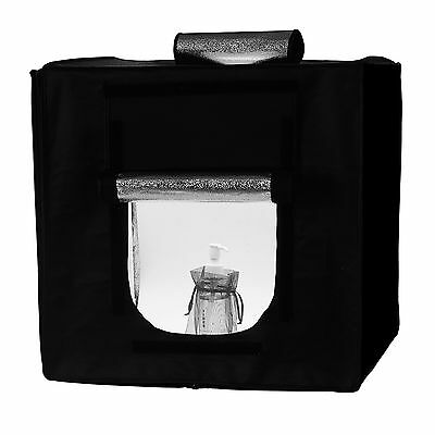 60x60cm Square Professional Photo Lighting Studio LED Shooting Tent Box Cube