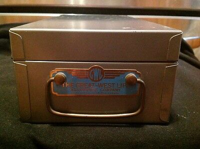 The Great West life  Assurance Company policy lock box