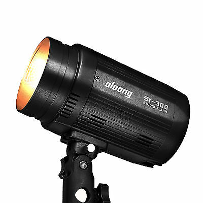 Pro Oloong SY-300 Photo Video Studio Flash Continuous  Light Lamp Lighting Head