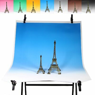 80x110cm Japan 7 Color Seamless Graduated Photo Background Backdrop Paper Roll