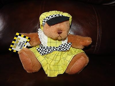 Russ Berrie and Company Mom's Taxi Service Teddy Bear Plush Doll 6""