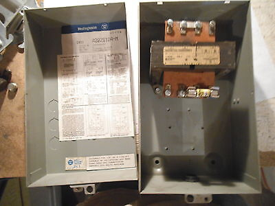 Westinghouse Enclosure A202S1Da-M With Transformer Only - Used