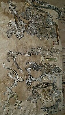 antique brass furniture hardware