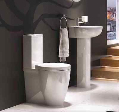 luxury 4 PIECE SET TOILET AND BASIN including soft close seat
