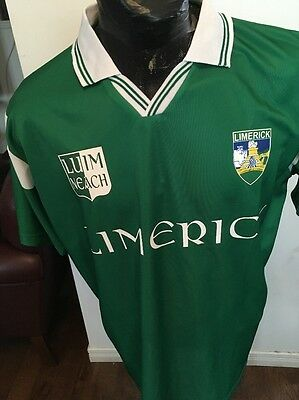 Adult M GAA Hurling Jersey LIMERICK LUIMNEACH Ireland