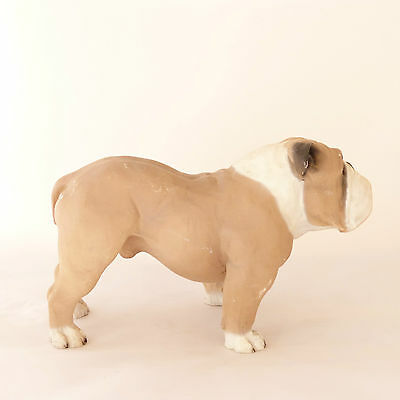 Bulldog Vintage Dog Figurine North Light Made in England