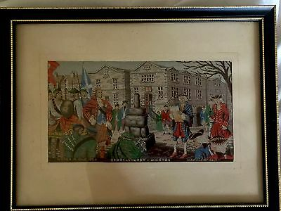 Brocklehurst Whiston Macclesfield Silk Of Bonnie Prince Charlie 1954 #2
