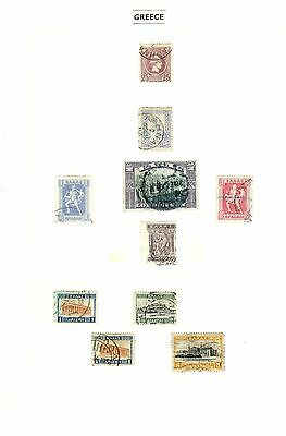 Greek Stamps - Very Early- 1886-1927