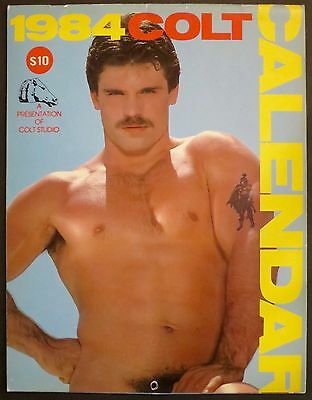1984 Colt Calendar  Gay Erotica Featuring Handsome Naked Men, Photography!