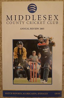 Middlesex County Cricket Club Annual Review 2005.