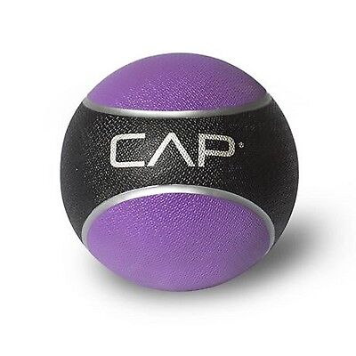 CAP Barbell Rubber Medicine Ball 4 Lbs Weighted Muscle Fitness Sport Exercise