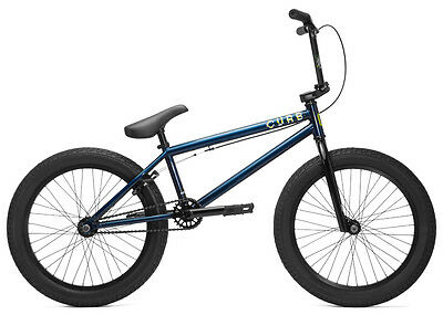 2017 Kink Curb - Complete Bmx Bike - Complete Bmx Bicycle - Shelby Blue