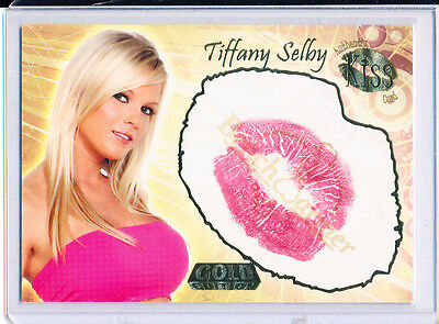 2007 Benchwarmer TIFFANY SELBY Kiss Card