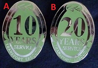 Greater Glasgow Passenger Transport Exectutive 10 years service breast badge #A