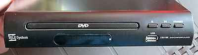 Tele System TS5100 - Lettore DVD/CD/Mp3/Mp4 - Usb