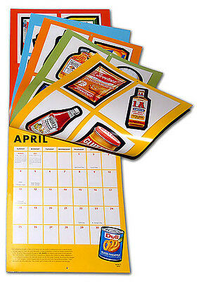 RARE 2010 Topps Wacky Packages WALL CALENDAR with BONUS STICKERS