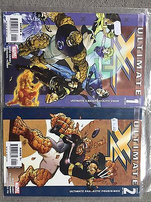 Marvel Ultimate X4 Issues 1 & 2 Of 2