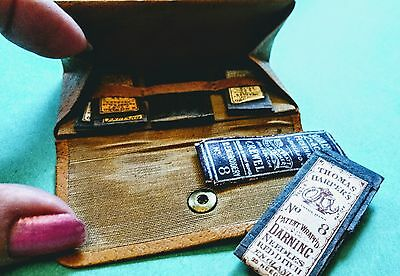 Antique, victorian,Leather NEEDLE CASE ,must see, its WONDERFUL!