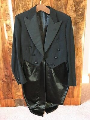Vintage Antique Tail Coat Hand Stitched Immaculate