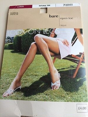 Open Toe Tights Size Large