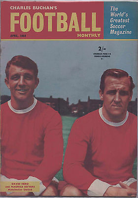 Charles Buchan's Football Monthly Magazine - April 1964