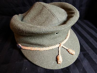 Antique Old Military Cavalry Infantry Soldiers Ww1 Ww2 Civil War Hat