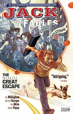 JACK OF FABLES Vol. 1: THE (NEARLY) GREAT ESCAPE Trade Paperback