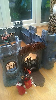 large play castle with a few extras