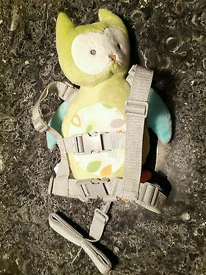 Carters Child of Mine 2 in 1 Owl Harness Buddy Backpack Toddler Kids Leash Strap