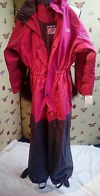 Girls waterproof ski suit