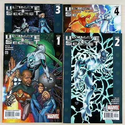 Ultimate Secret #1,2,3,4 (1-4 of 4) -- complete four-part miniseries (VF | 8.0)
