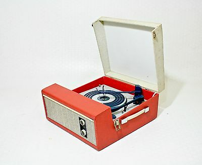 Fully Serviced 1960's Fidelity 'hf-45' Vintage Record Player