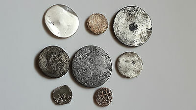 Silver Later coins for the identification.NR 2