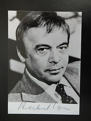 Gerry Anderson Ufo Doppelganger Autograph Of (Herbert Lom) Pink Panther