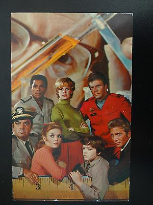 Land Of The Giants Irwin Allen Original Promo Fan Card Printed Autographs