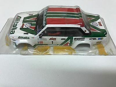 scalextric cars scx fiat rally car shell brand new