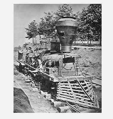 The General PHOTO, GREAT LOCOMOTIVE CHASE,Atlanta 1862, Civil War Confederate