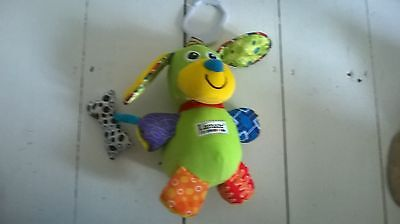 Children's Lamaze Dog - touch and feel