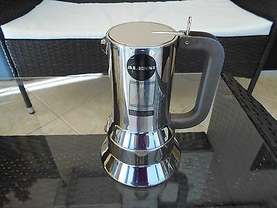 Caffettiera Alessi 9090/6 Richard Sapper Acciaio Inox Italy Vintage Coffee Pot