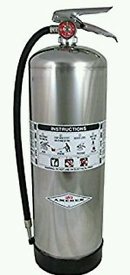 Water Fire Extinguisher, 2A, 2.5 gal, Water, 25inH