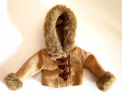 Jacket Coat Brown Clothes Takara Tomy Outfit Licca Blythe Pullip Dal 1/6 Doll
