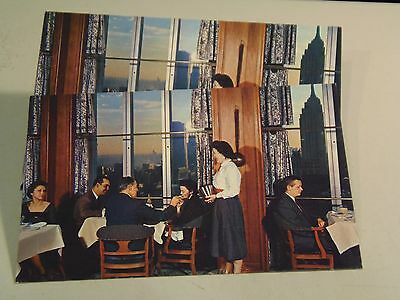 Stouffer's Top of the Six's, Lady Smoking, New York Postcards