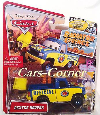 Disney Pixar Cars Dexter Hoover with Yellow Flagg - Radiator Springs Classics